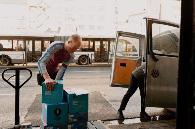 manutention livraison en milieu urbain